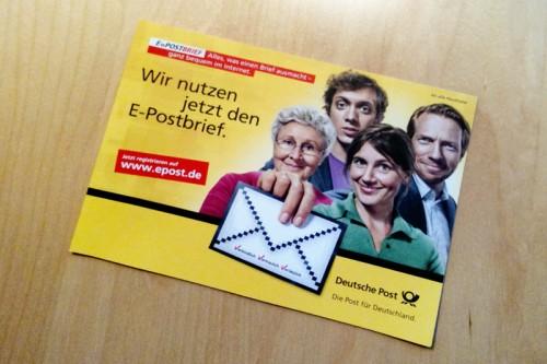 E-Post Werbung